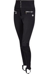 SPORTALM - LEGINSY NARCIARSKIE START HIGH WAIST BLACK