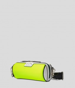 KARL LAGERFELD - TORBA DO TENISA RUE ST-GUILLAUME NEON YELLOW