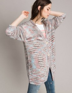 TWINSET MY TWIN  - SWETER CARDIGAN MULTICOLOR